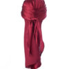 Bordeaux Silk Durag Long